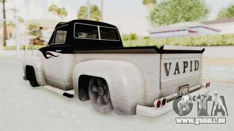 GTA 5 Slamvan Lowrider PJ1 für GTA San Andreas rechten Ansicht