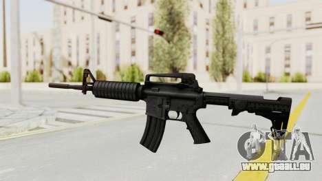 HD M4 v1 pour GTA San Andreas deuxième écran