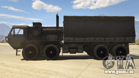 GTA 5 Heavy Expanded Mobility Tactical Truck linke Seitenansicht