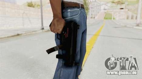 M5K pour GTA San Andreas troisième écran