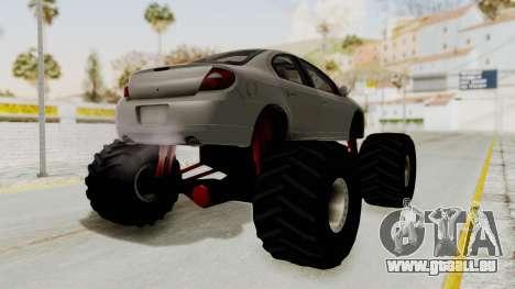 Dodge Neon Monster Truck für GTA San Andreas rechten Ansicht
