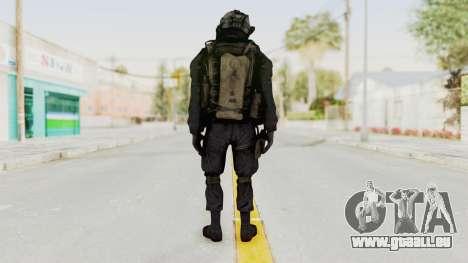 COD MW2 Shadow Company Soldier 1 pour GTA San Andreas troisième écran
