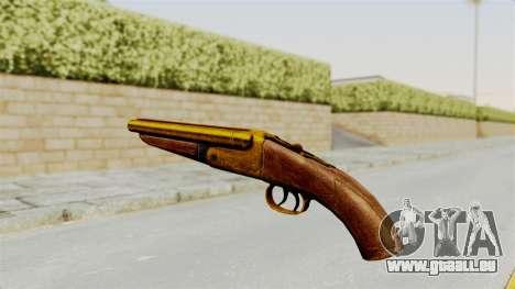 Sawnoff Gold für GTA San Andreas zweiten Screenshot