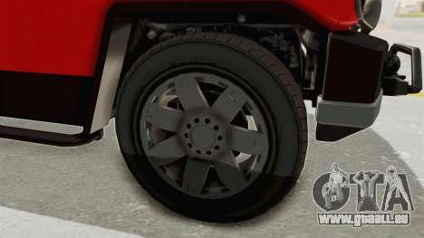 GTA 5 Karin Beejay XL IVF für GTA San Andreas Rückansicht