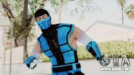 Mortal Kombat X Klassic Sub Zero UMK3 v2 für GTA San Andreas