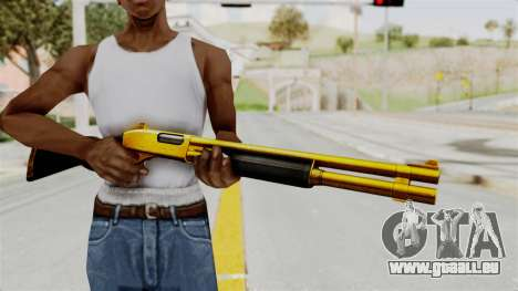 Remington 870 Gold für GTA San Andreas