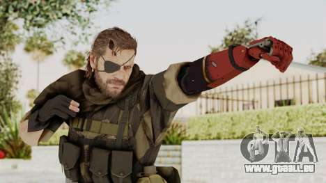 MGSV The Phantom Pain Venom Snake Scarf v4 pour GTA San Andreas