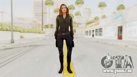 Captain America Civil War - Black Widow für GTA San Andreas zweiten Screenshot