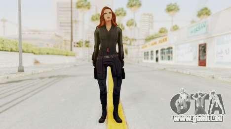 Captain America Civil War - Black Widow pour GTA San Andreas deuxième écran