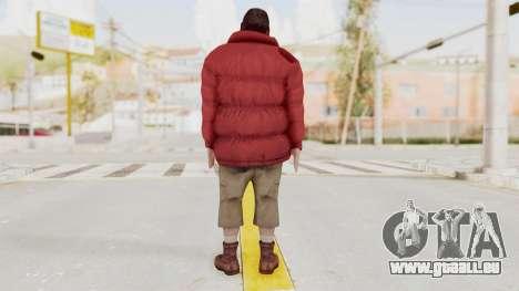 Alan Wake - Barry Wheele pour GTA San Andreas troisième écran