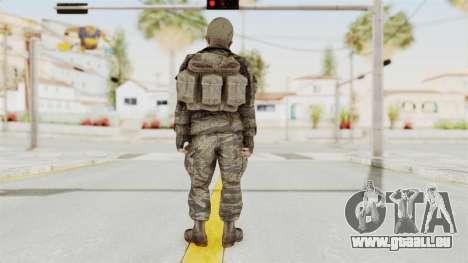 COD BO SOG Reznov v2 pour GTA San Andreas troisième écran