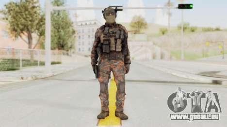 COD Black Ops 2 Cuban PMC 1 pour GTA San Andreas deuxième écran