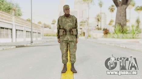MGSV Ground Zeroes US Soldier Armed v1 pour GTA San Andreas deuxième écran