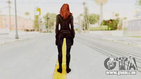 Captain America Civil War - Black Widow für GTA San Andreas dritten Screenshot