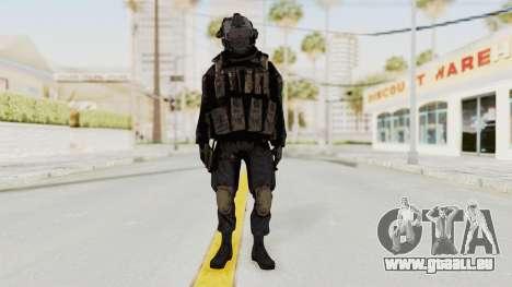 COD MW2 Shadow Company Soldier 1 pour GTA San Andreas deuxième écran