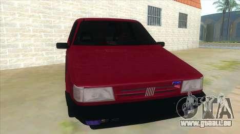 Fiat Uno S für GTA San Andreas Rückansicht
