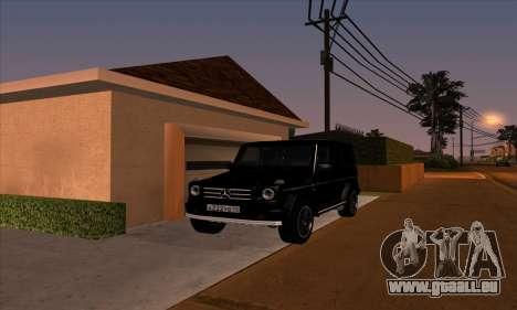 Mercedes G55 Kompressor für GTA San Andreas