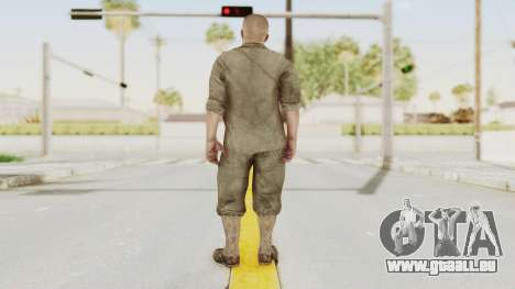 COD BO Dempsey pour GTA San Andreas troisième écran