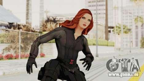 Captain America Civil War - Black Widow pour GTA San Andreas