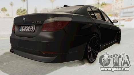 BMW 530D E60 pour GTA San Andreas vue de droite
