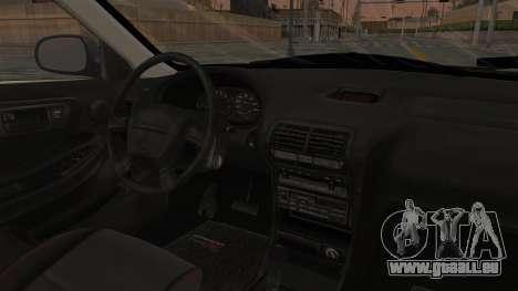 Acura Integra Fast N Furious pour GTA San Andreas vue intérieure