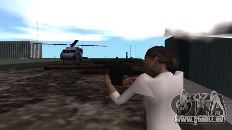 VIP Sniper Rifle pour GTA San Andreas quatrième écran