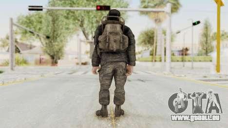 COD BO President Nixon Vietnam v2 für GTA San Andreas dritten Screenshot