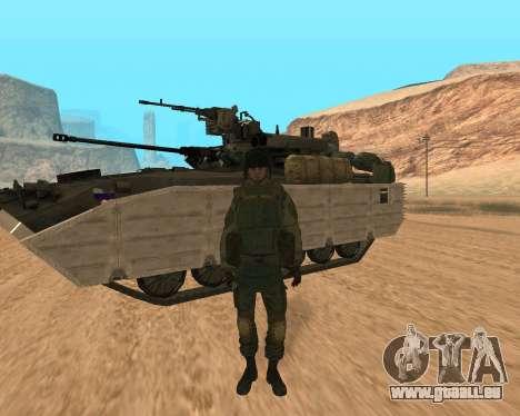 Des forces spéciales de la Fédération de russie pour GTA San Andreas