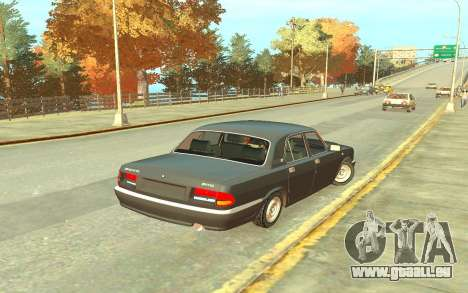 GAZ 3110 für GTA 4 rechte Ansicht