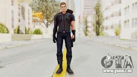 Captain America Civil War - Hawkeye pour GTA San Andreas deuxième écran
