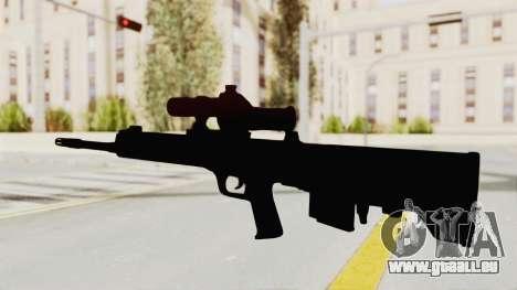 QBU-88 pour GTA San Andreas troisième écran