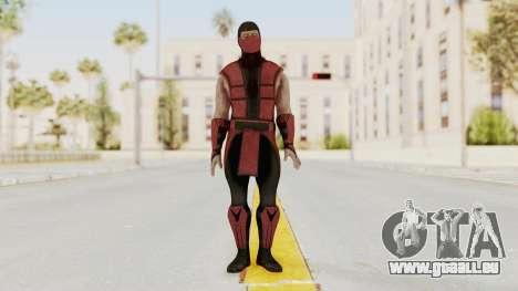 Mortal Kombat X Klassic Ermac für GTA San Andreas zweiten Screenshot