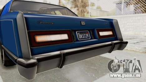 GTA 5 Dundreary Virgo Classic Custom v1 IVF pour GTA San Andreas salon
