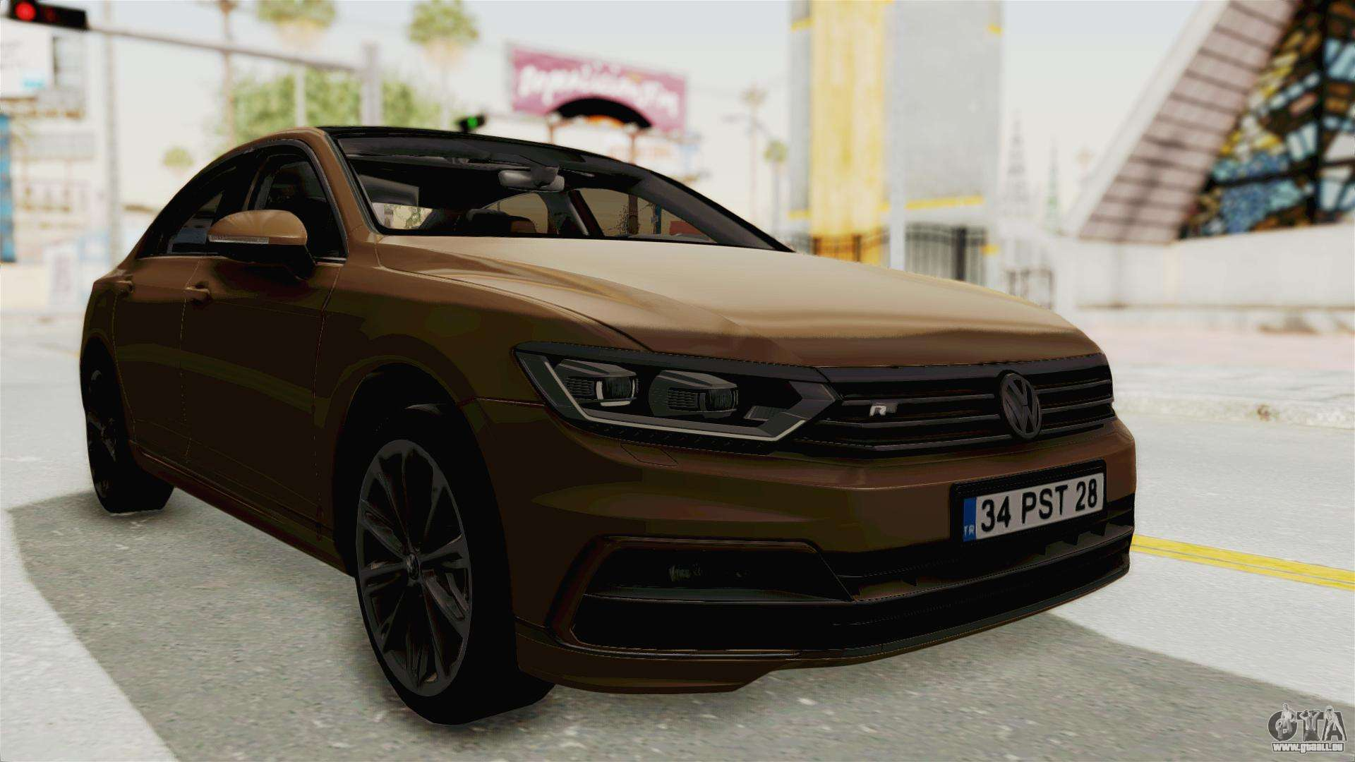 volkswagen passat b8 2016 rline ivf f r gta san andreas. Black Bedroom Furniture Sets. Home Design Ideas