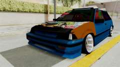 Honda Civic EF9 HellaFlush pour GTA San Andreas