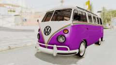 Volkswagen T1 Station Wagon De Luxe Type2 1963 pour GTA San Andreas