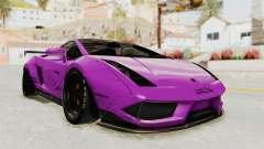 Lamborghini Gallardo 2015 Liberty Walk LB pour GTA San Andreas