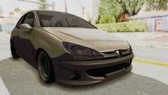 Peugeot 206 für GTA San Andreas