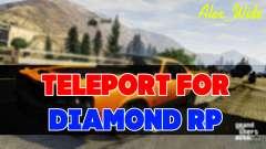 Se téléporter pour le Diamant RP