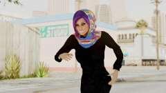 Iranian Girl Skin v2 pour GTA San Andreas