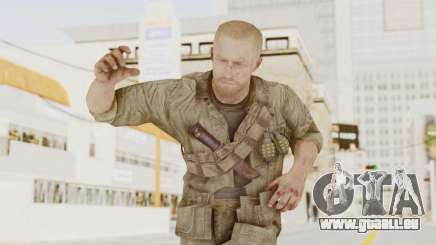 COD BO Dempsey für GTA San Andreas