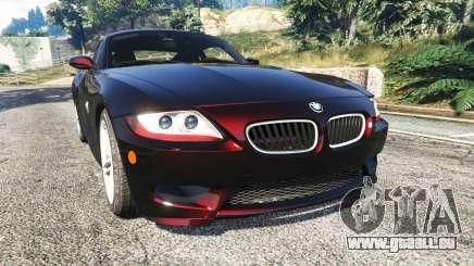 BMW Z4 M (E86) 2008 pour GTA 5