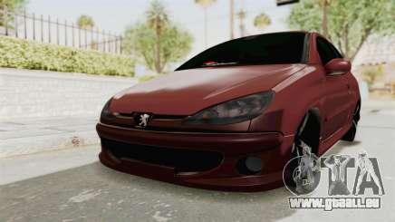 Peugeot 206 Full für GTA San Andreas