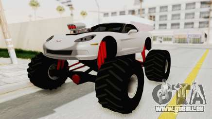Chevrolet Corvette C6 Monster Truck pour GTA San Andreas