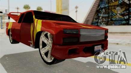 Mitsubishi Pajero Iraqi Pickup pour GTA San Andreas