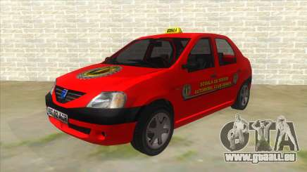 Dacia Logan Scoala pour GTA San Andreas