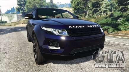 Range Rover Evoque v5.0 pour GTA 5