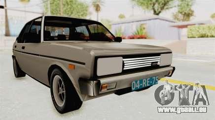 Fiat 131 Supermirafiori 1977 für GTA San Andreas