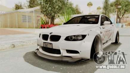 BMW M3 E92 Liberty Walk LB Performance pour GTA San Andreas