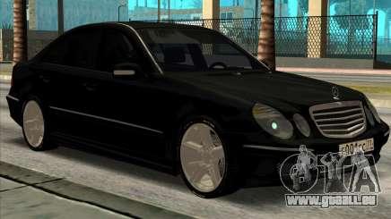 Mercedes-Benz E55 W211 AMG pour GTA San Andreas